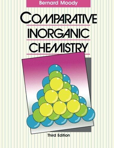 9780713136791: Comparative Inorganic Chemistry: Third Edition
