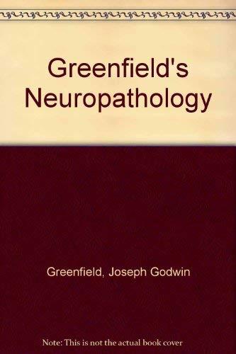 9780713144444: Greenfield's Neuropathology