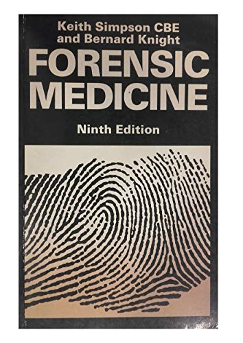 Simpsons Forensic Medicine