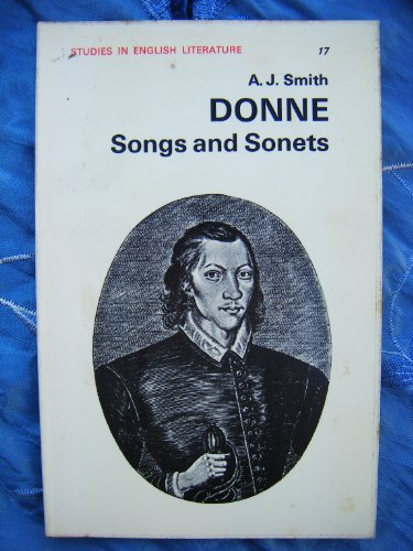 "9780713150858: Donne's ""Songs and Sonnets"" (Study in English Literature)"