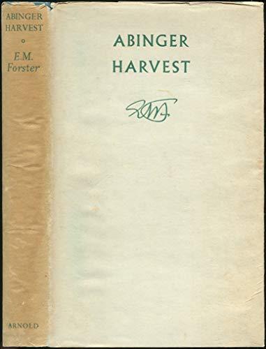 9780713151428: Abinger Harvest