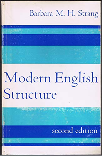 9780713154153: Modern English Structure