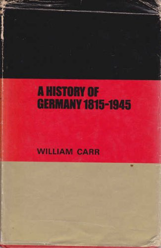 9780713154337: History of Germany, 1815-1945