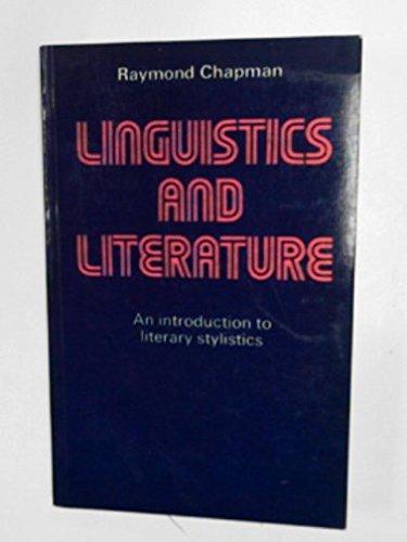 9780713156867: Linguistics and Literature