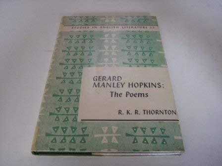 9780713157260: Gerard Manley Hopkins' Poems (Study in English Literature)