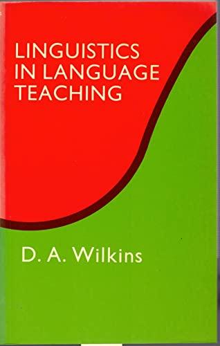 Linguistics in Language Teaching: D.A. Wilkins