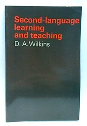 9780713157598: Second-language Learning and Teaching