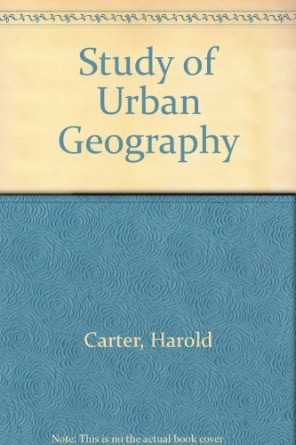 9780713158557: Study of Urban Geography