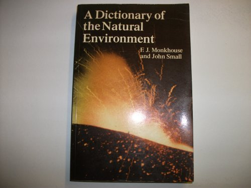 Dictionary of the Natural Environment