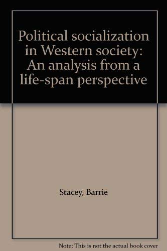 9780713159912: Political Socialization in Western Society