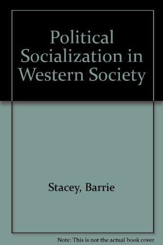 9780713159929: Political Socialization in Western Society