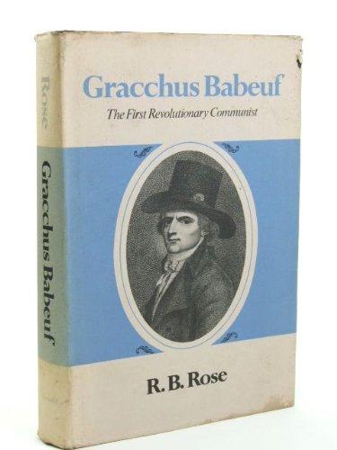 9780713159936: Gracchus Babeuf: The First Revolutionary Communist