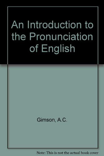 9780713162875: Introduction to the Pronunciation of English