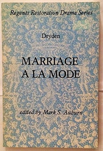 9780713163568: Marriage a la Mode
