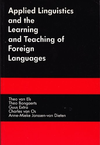 9780713164220: Applied Linguistics and the Learning and Teaching of Foreign Languages (English and Dutch Edition)