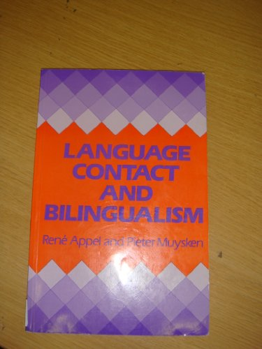 LANGUAGE CONTACT AND BILINGUALISM PDF