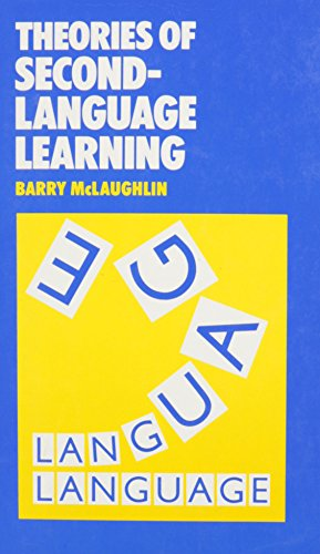 9780713165135: SLA:THEORIES OF SECOND LANGUAGE LEARNING (Second-Language Acquisition)