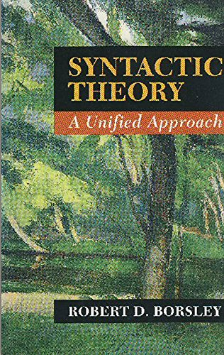 9780713165432: Syntactic Theory: A Unified Approach