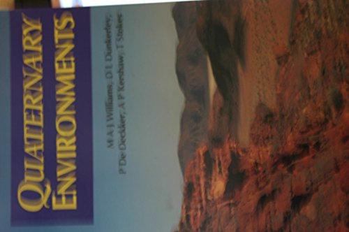 9780713165906: Quaternary Environments