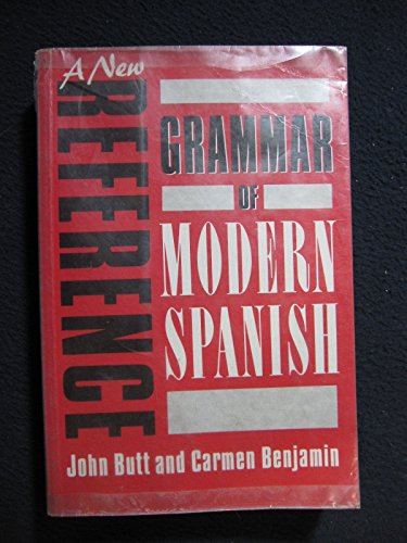9780713166125: A New Reference Grammar of Modern Spanish
