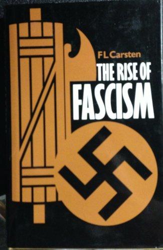 9780713406290: Rise of Fascism