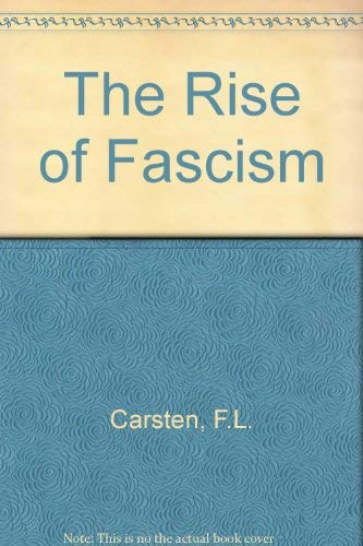 9780713406306: The Rise of Fascism