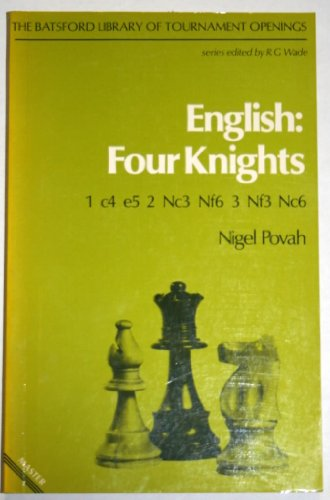 9780713406696: English Four Knights (Chess Bks.) (Chess Books)