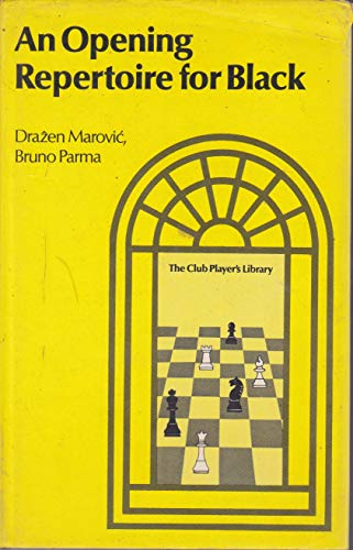 9780713410341: Opening Repertoire for Black (Club player's library)