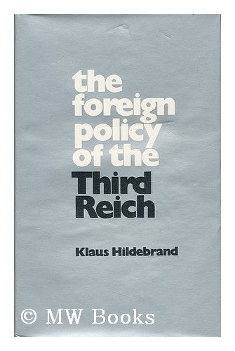 9780713411263: Foreign Policy of the Third Reich