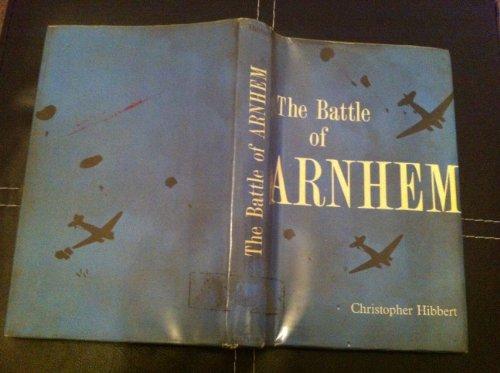 9780713411546: Battle of Arnhem (British Battles S.)