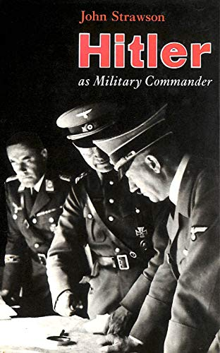 9780713412079: Hitler as Military Commander (Military Commanders)