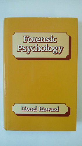 9780713424751: Forensic Psychology