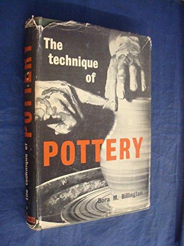 9780713425086: Technique of Pottery