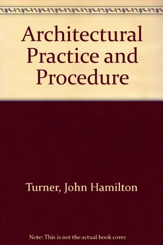 9780713427998: Architectural Practice and Procedure from Appointment