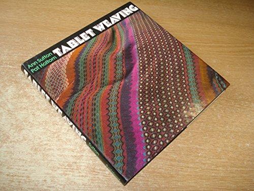 9780713428919: Tablet Weaving