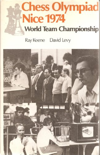 9780713429787: Chess Olympiad, Nice 1974