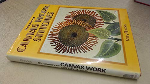 9780713433012: Dictionary of Canvas Work Stitches