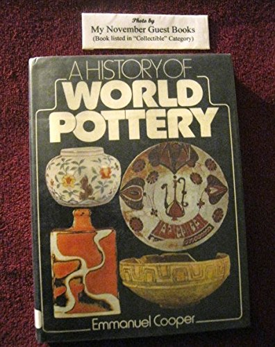 A history of world pottery: Cooper, Emmanuel