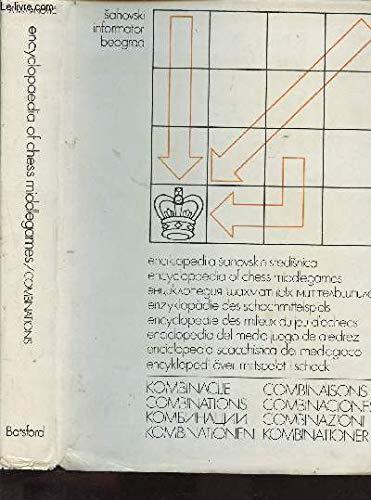 Enciklopedija sahovskih sredisnica : kombinacije. Encyclopaedia of: N.Krogius; A. Livsic;