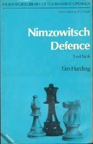 9780713435979: Nimzowitsch Defence (Tournament player's openings)