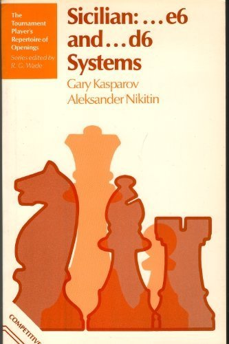 9780713440225: Sicilian E6 and D6 Systems (Tournament player's repertoire of openings) (English and Russian Edition)