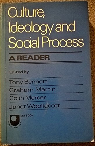 9780713443141: Culture, Ideology and Social Process