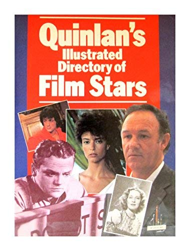 9780713444803: Quinlan's Illustrated Directory of Film Stars