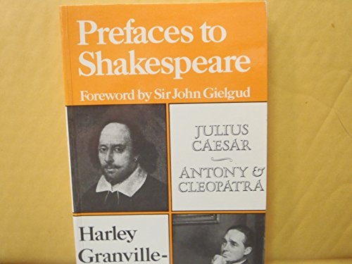 9780713445114: Prefaces to Shakespeare: Caesar, Anthony and Cleopatra
