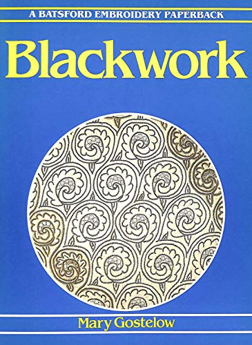 9780713446210: Blackwork (Batsford Embroidery Paperback)