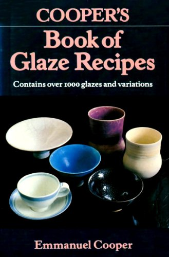 9780713454239: Cooper's Book of Glaze Recipes