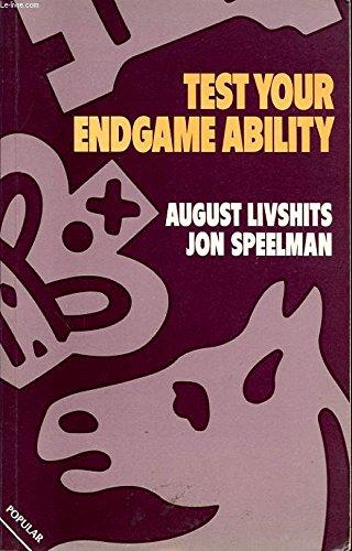 9780713455670: Test Your Endgame Ability