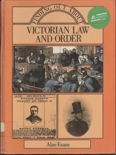 9780713456592: Finding Out About Victorian Law and Order