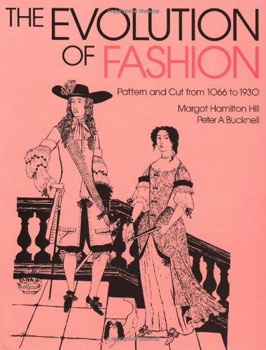 9780713458183: The Evolution of Fashion: Pattern and Cut From 1066 to 1930