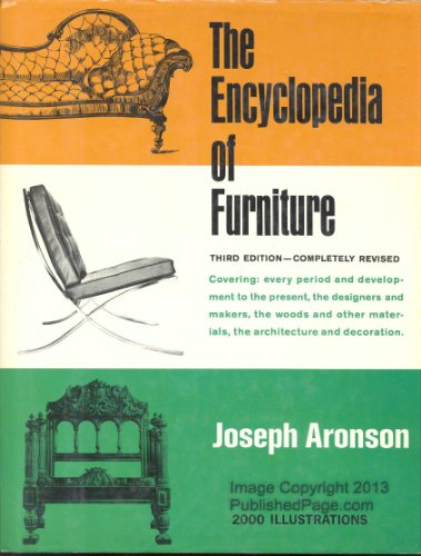 Aronson Joseph The Encyclopedia Of Furniture Abebooks